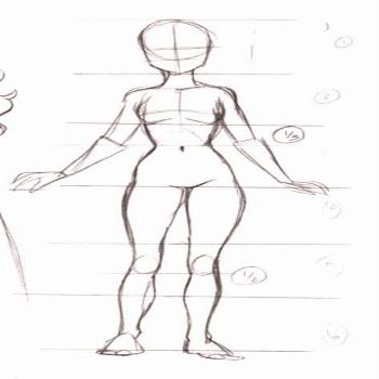 17+ Ideas For Drawing Body Proportions Character Design