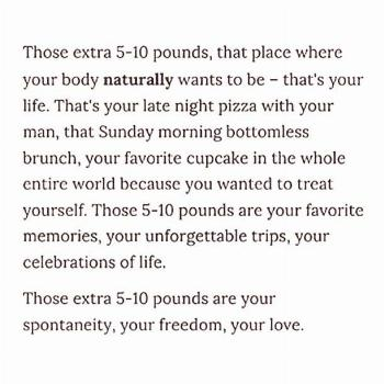 A Body Positivity Quote That Resonated
