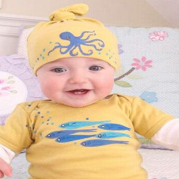 baby names gender neutral Octopus and Fish Onesie and Hat    The Large Trade – Transitioning Your