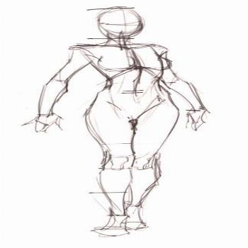 Best Anatomy Drawing Ideas Body Sketches, Human Anatomy - Female Body Reference Drawing