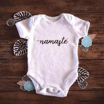 Bodysuit, Children Yoga Onepiece, Unisex Child Present, First Outfit, Coming House Vest, Child Yoga