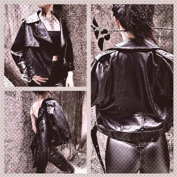 Faux Leather PU Jacket You can find Bodysuit and more on our website.Faux Leather PU Jacket