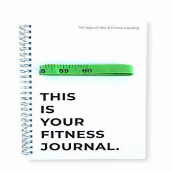 Workout Fitness Journal – Weight Loss & Exercise Notebook