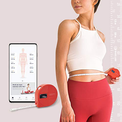 BAGEL Pie Labs Smart Tape Measure for Your Body - Easy Goal