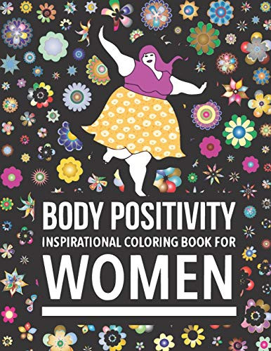 Body Positivity Inspirational coloring book for women