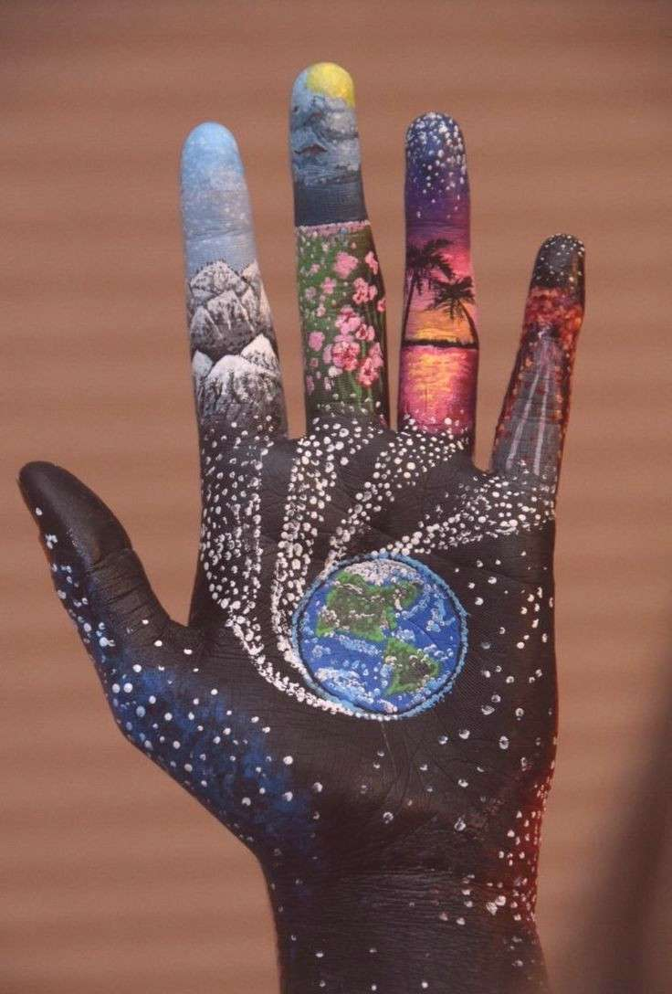 The entire world, within the palm of your hand. Might you even think about the kind of be... -