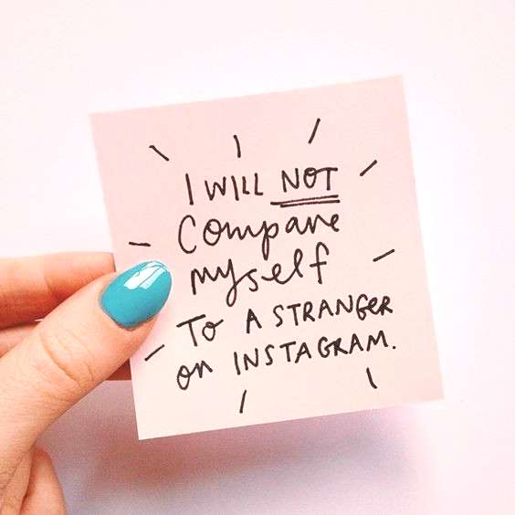 What a brilliant reminder. Genius post-it note courtesy of Emily Coxhead .